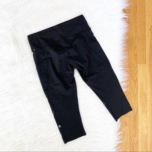 lululemon athletica Pants - Lululemon | Fast and Free Crop Black